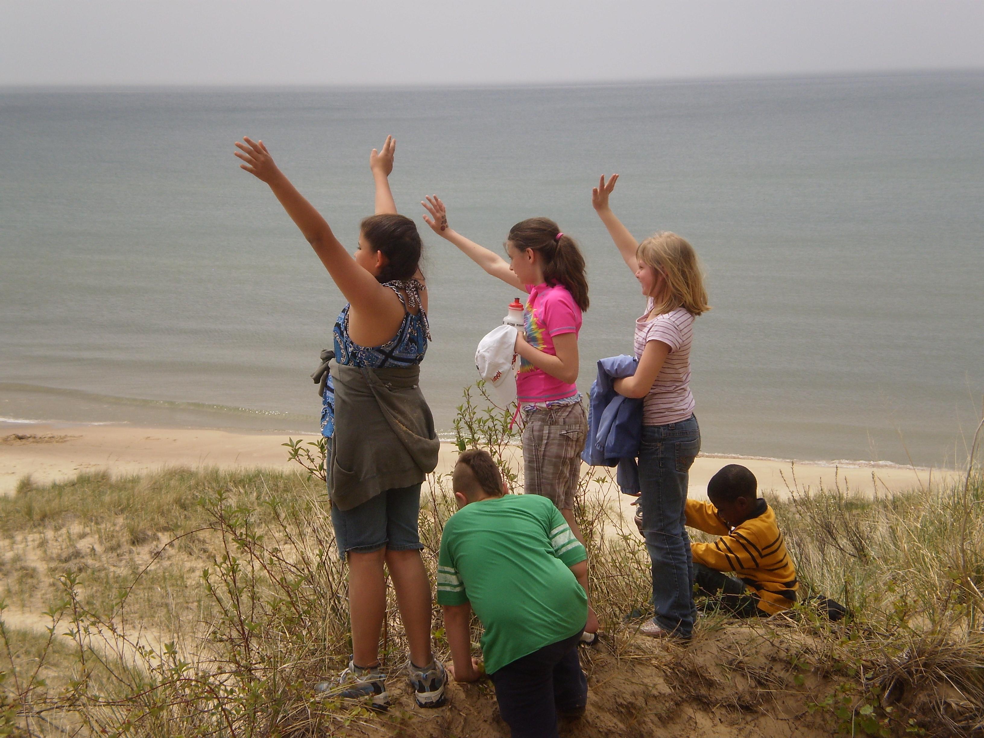 dune waving