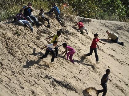 kids on dune